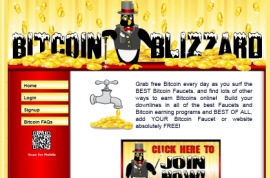 Bitcoin Blizzard - A Bitcoin Faucet Browser and More!
