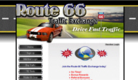 Drive Fast Traffic to your Website on Route 66!